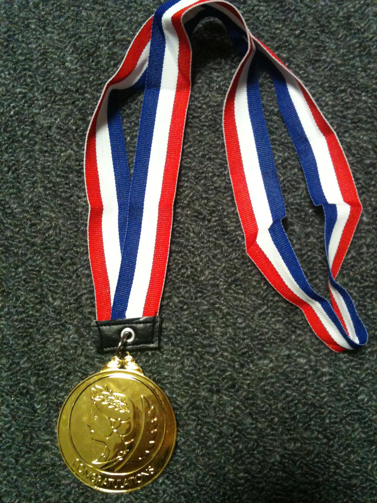 診断士試験合格の金メダル